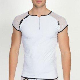 T-shirt Blanc Mixing 2