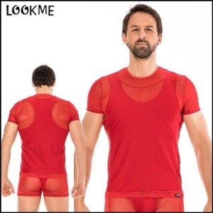 T-shirt Midnight rouge