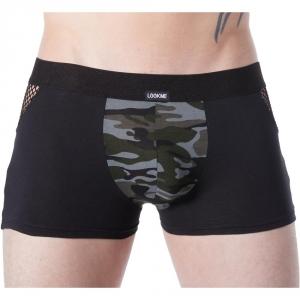 Boxer homme lookme Army à motif camouflage & large élastique