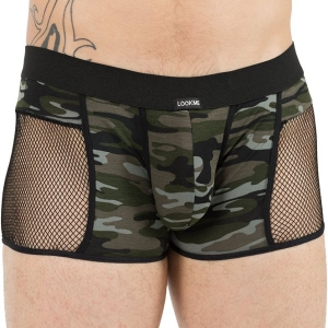 Boxer Lookme Military vue de Face