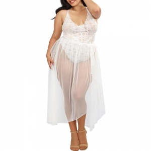 Body Et Jupon Grande Taille Zely