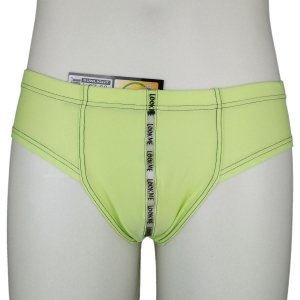 Shorty Vert Lookme Sunlight Avec Bande Transparente Devant