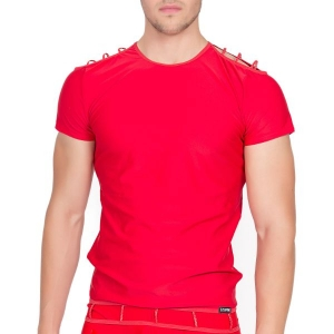 T-Shirt Marker Rouge LookMe