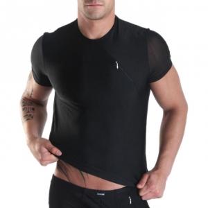 T-Shirt Openheart Noir LookMe