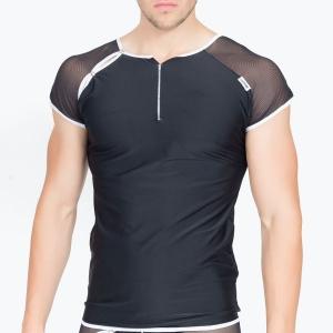 T-Shirt Mixing 2 Noir LookMe