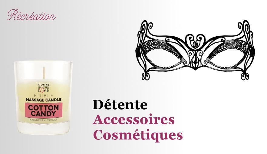 Accessoires et cosmétiques pour pimenter vos soirées amoureuses