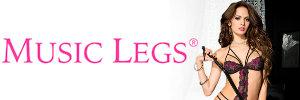 Marque MUSIC LEGS - Lingerie sexy pour femme