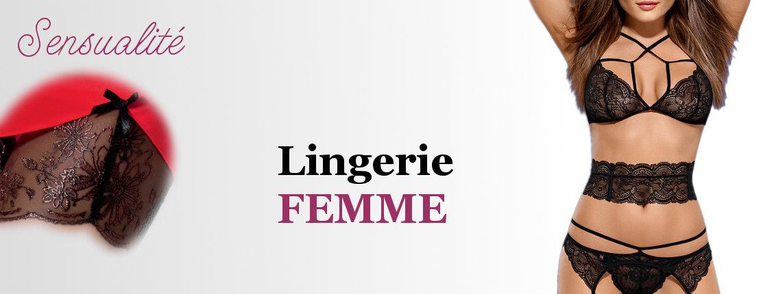 Lingerie femme - Click Boutique Femme